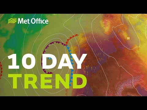 10 Day Trend – Record-breaking Heat, Then What? 24/07/19