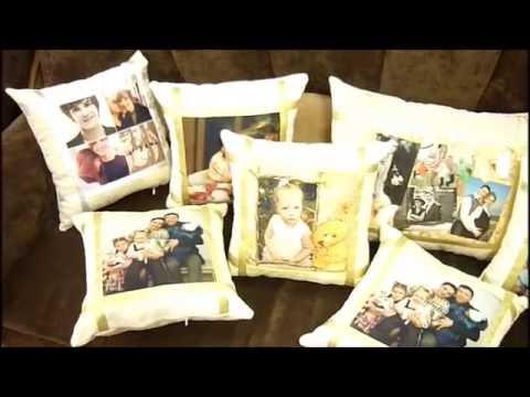 декоративные подушки открытки с фото