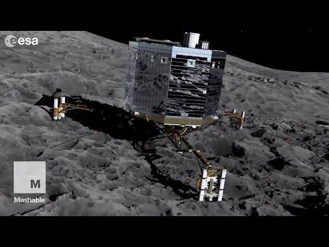 Philae Spacecraft on Comet