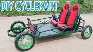Build an CycleKart At home - DIY Buggy Car - Tutorial