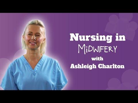 Nursing in midwifery with Ashleigh Charlton