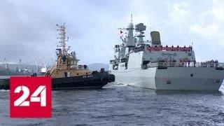 Моряки из России и Китая отработали помощь аварийной подлодке - Россия 24