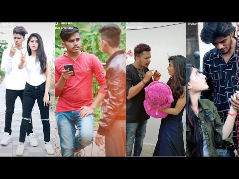 Mathe Maretha Haagide🥰/cute Couple Love 😍/ Comedy Video In Tik Tok Masti Kannada