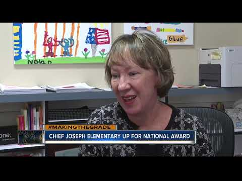 Chief Joseph Elementary School is nominated for National Blue Ribbon Award