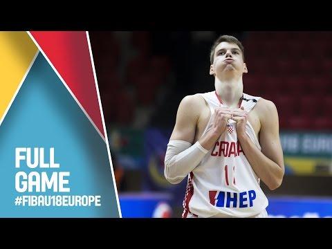 Croatia v Israel - Full Game - CL 13-16 - FIBA U18 European Championship 2016