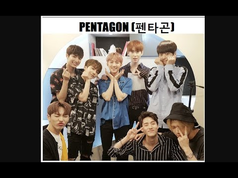 PENTAGON(펜타곤)@SoundK. Arirang Radio. 10.07.2017