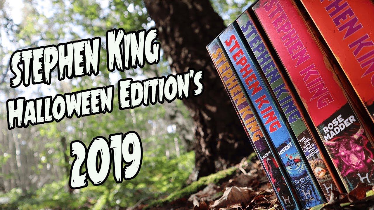 Steben King Halloween Show 2020 STEPHEN KING HALLOWEEN EDITION'S 2019 (UK)   YouTube