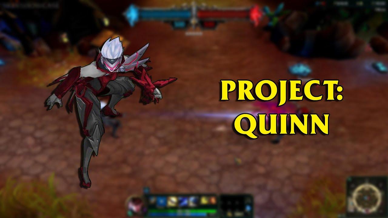Project quinn lol custom skin showcase youtube