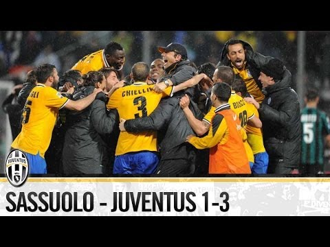 Sassuolo-Juventus 1-3   28/040/2014  The Highlights