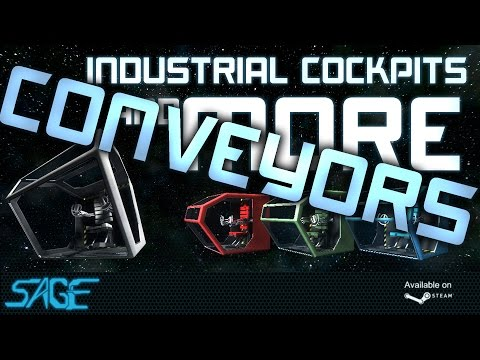 Space Engineers, Industrial Conveyor System (Sage Mod)