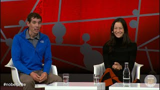 Free Solo! Alex Honnold and Chai Vasarhelyi discuss their award-winning film at Nobel Week Dialogue
