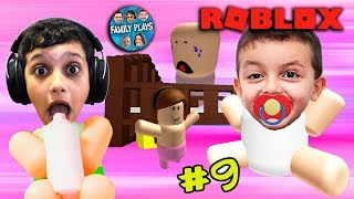 ROBLOX: TURN a BABY in DAYCARE! (DAYCARE CENTER) Family Plays