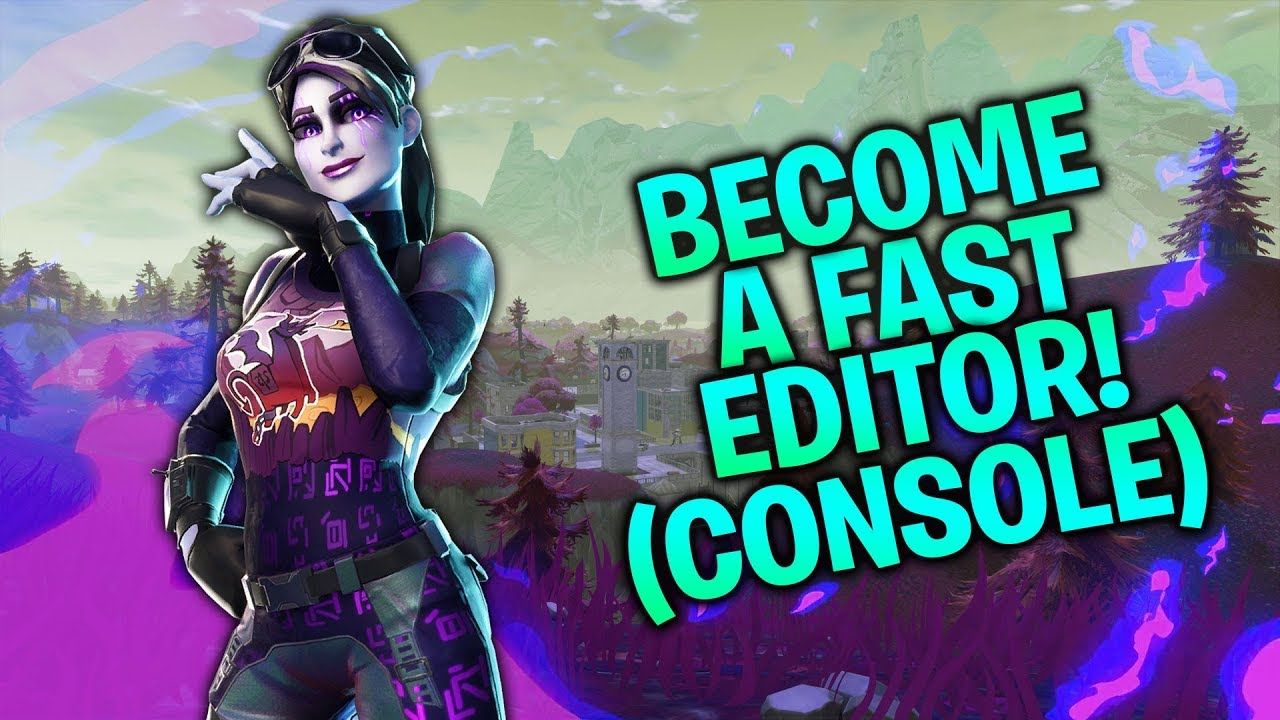 5 Courses/Drills to Become a Faster Editor! (Fortnite Console Tips PS4/Xbox)