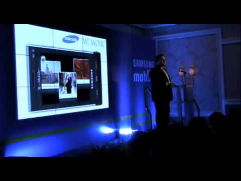 Samsung Instinct S30 Sprint   Launch @ CTIA 2009
