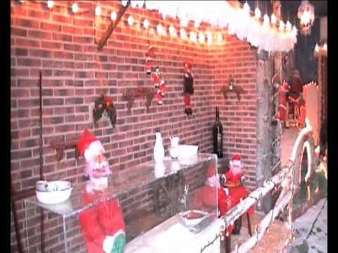 Immagini Del Villaggio Di Babbo Natale.Torre Del Greco La Casa Di Babbo Natale