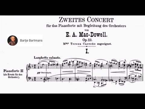 Edward MacDowell - Piano Concerto No. 2 in D minor, Op. 23