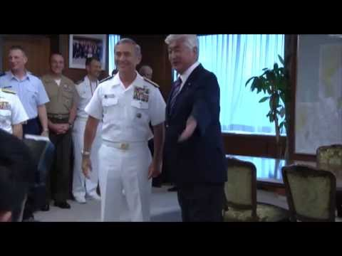 JAPAN: PACOM Commander, Adm. Harry Harris Speaks at the Japan Ministry of Defense. (July 25, 2016).