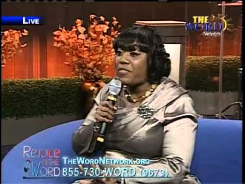 Pastor Leslye Edwards On The Word Network With Bishop