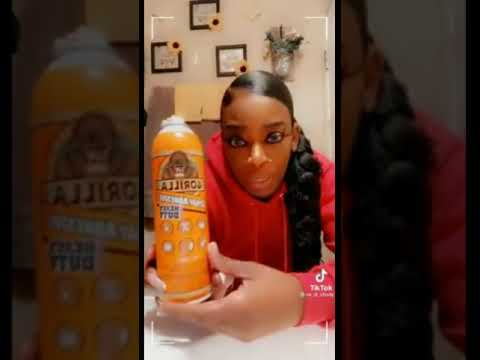 THE BLACK WOMAN WHO PUT GORILLA GLUE IN HER HAIR