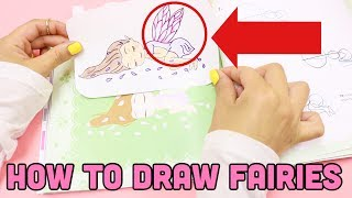 HOW TO DRAW FAIRIES step by step guide Book review