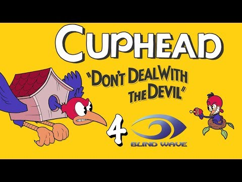 "Aaron and Rick Play CUPHEAD #4 ""Morning Wood Pecker"""