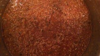 Sauce Bolognese aus dem Monsieur Cuisine