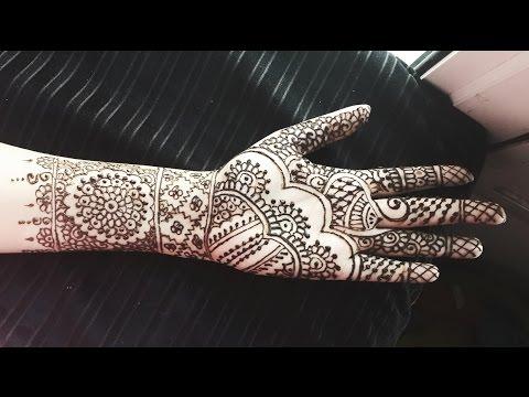 Bridal Henna Design Full Hand Wedding Mehndi Indian Mehendi