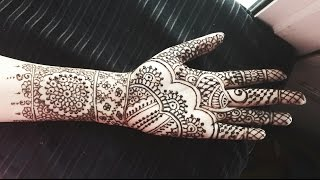Bridal Henna Design - Full Hand Wedding Mehndi - Indian Mehendi Tattoo
