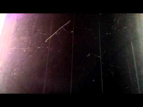 Треки космических частиц в камере Вильсона
