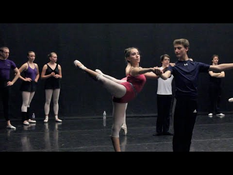Maine State Ballet: Beginner Partnering Class - YouTube