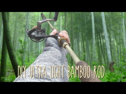 How To Make Bamboo Fishing Rod Step By Step Ep. 112