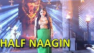 Mouni Roy AKA Shivangi's Half Naagin Look   #TellyTopUp