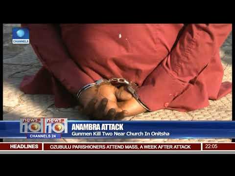 Gunmen Kill Two Near Church In Onitsha