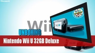 Unboxing Nintendo Wii U 32GB Premium Pack (UK Version)