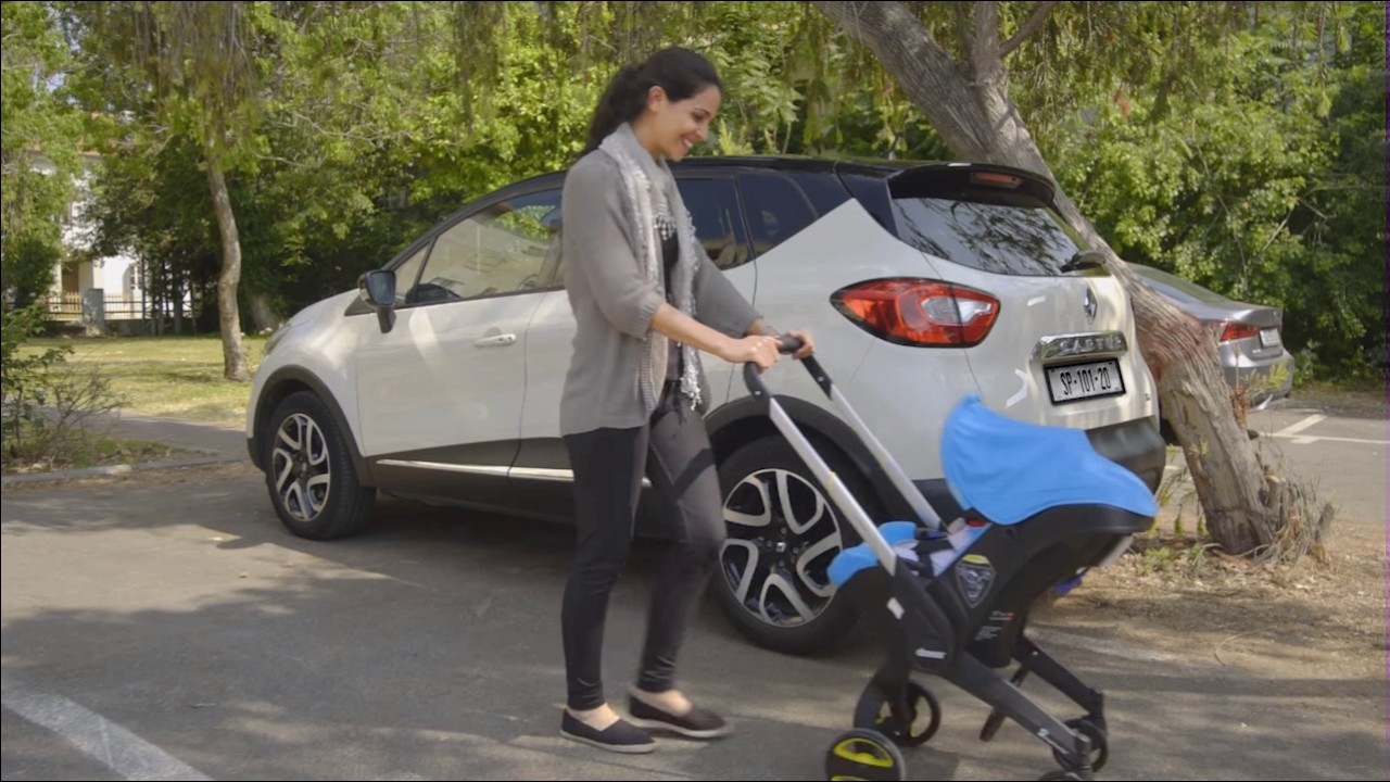 Doona 2 in one Cat And Stroller Combo - YouTube