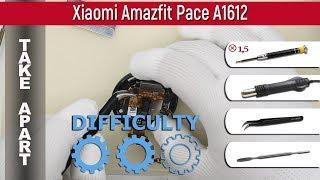 Qanday   Xiaomi Amazfit Sur'atlar A1612 Ta'lim Olish bir-biridan disassemble uchun