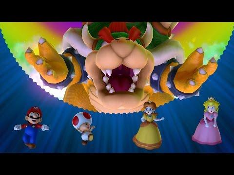 Mario Party 10 - Bowser Party Mode - Mushroom Park (Team Mario)