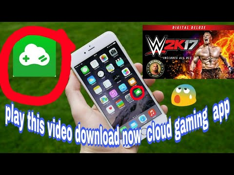 🔥How to download APK cloud gaming play 2K 17 game online