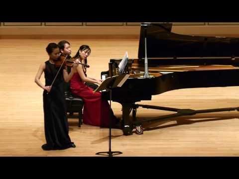 W.A.Mozart violin sonata in D major K.306