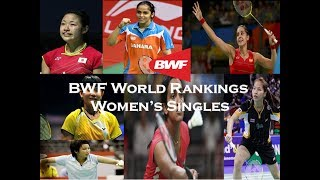 badminton bwf world rankings 4 6 2017 women s singles