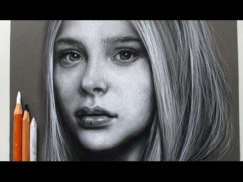 Drawing Chloe Grace Moretz