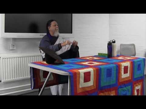 Talk at University of Sheffield (part 1)