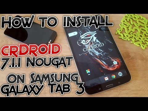 How to install crDroid 7 1 1 Nougat ROM on Samsung Galaxy