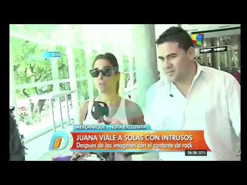 Juanita caminó 420 metros asediada por Intrusos: Sus respuestas y la reacción de Jorge Rial
