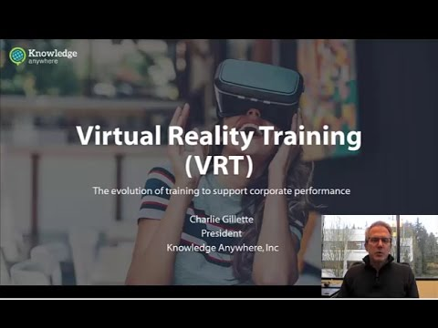 Virtual Reality Training for Corporations