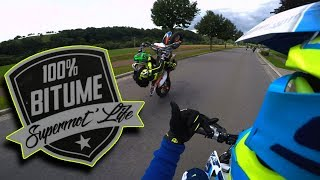 SUPERMOTO IN LUXEMBOURG : CRAZY !!