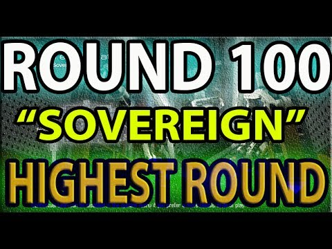 "ROUND 100 ""Sovereign"" Call of duty Ghost Safeguard Survival - Highest Round - WR?"