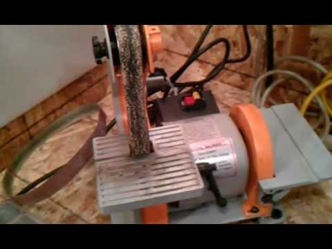 Harbor Freight Belt And Disc Sander Mods