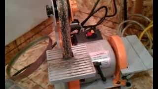 Harbor Freight 1x30 Belt Sander Review And Other Shop Gear.3gp