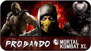 Probando Mortal Kombat XL en PC GTX 950 || Gameplay Español ||  MAXismael3D